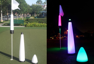 night golf lighting gear and equipment