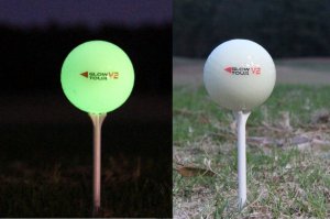 night golf balls by Glowgear