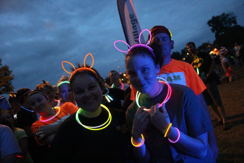fun run lighting for glow runs