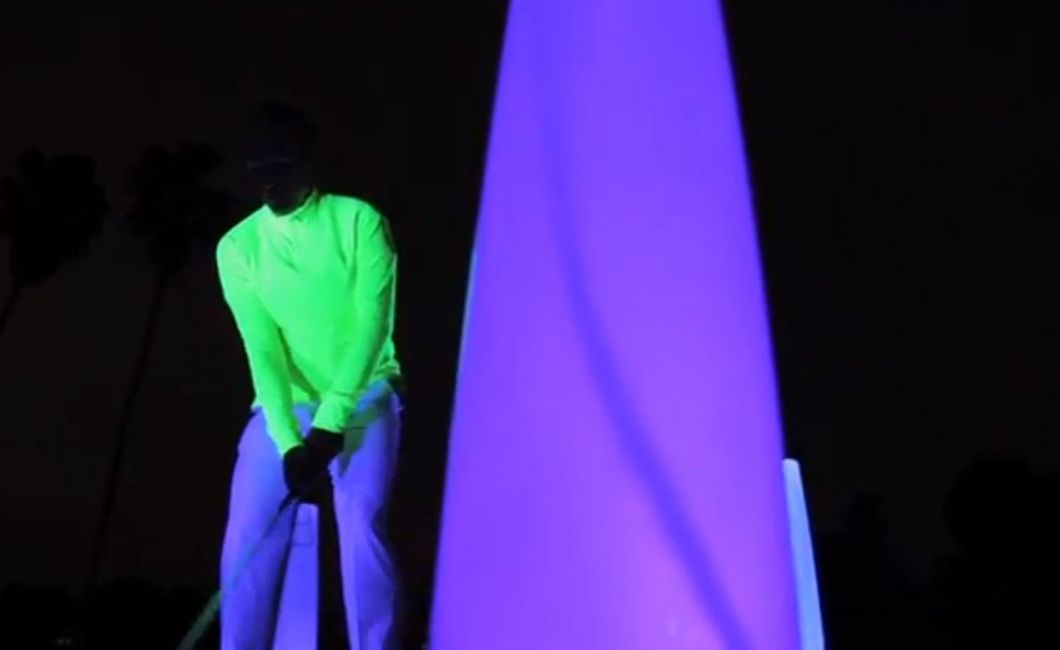 Black light golf 1