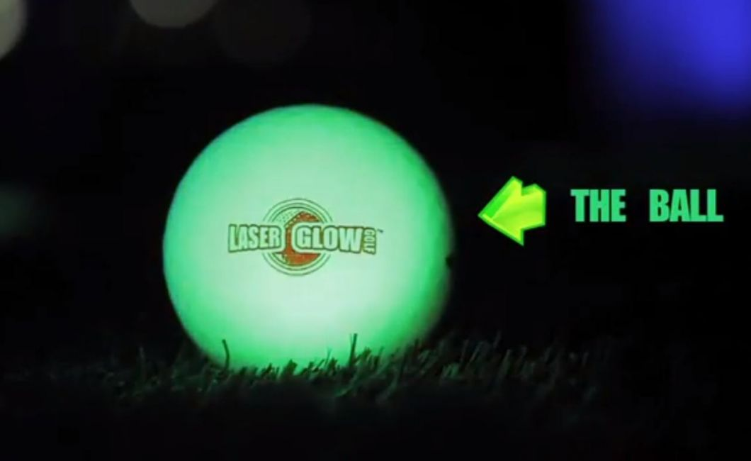 Night Golf ball